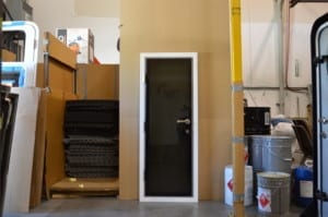 D55 hinged door clearance item.