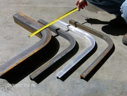 Advanced Bending Technologies tight radius bends in steel and aluminum.