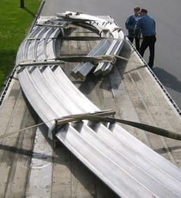 Conical bends in 8' x 4' stainless steel tube by Advanced Bending Technologies.