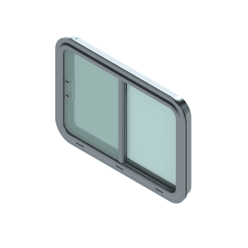 A rendering of the 1077 model window.