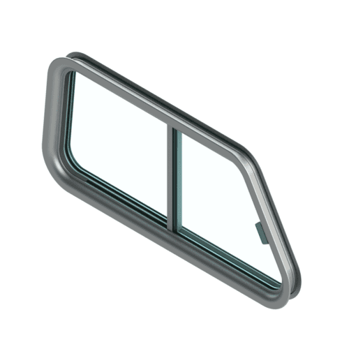 A rendering of the 150S model window.