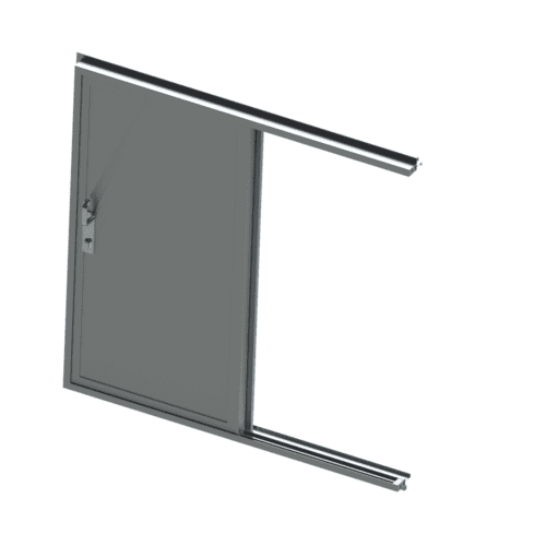 A rendering of the 300X model door.