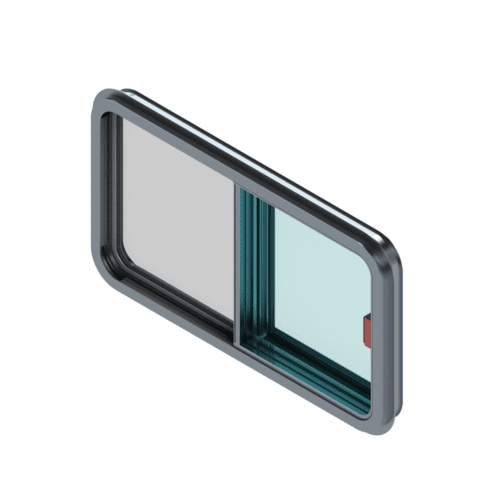 A rendering of the 400S model window.
