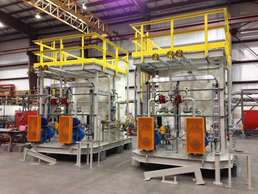 Advanced Flow Systems pipe spooling and pressure vessels.
